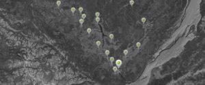 Карта районов Сентябрь опт